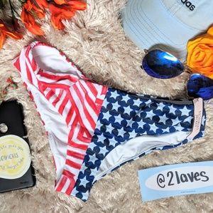 NWT Victorias Secret USA Bikini Bottom Size XS